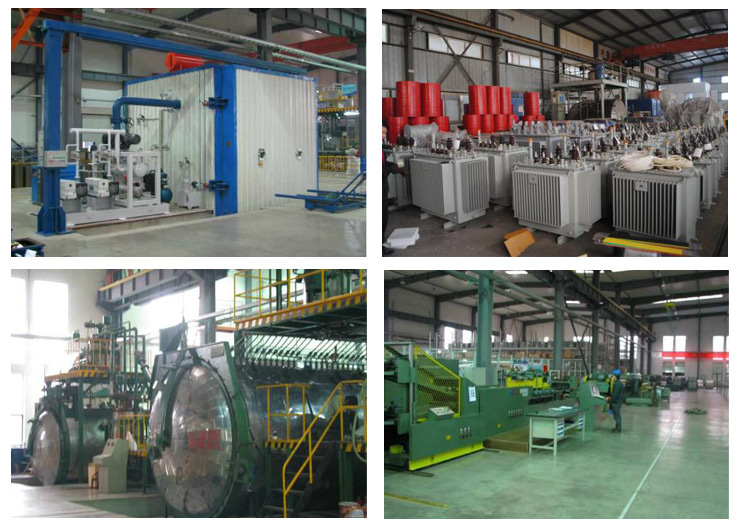 Production process of KBSG9 series mining flameproof dry-type transformer